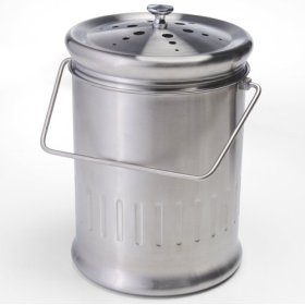The Stainless Steel Compost Pail
